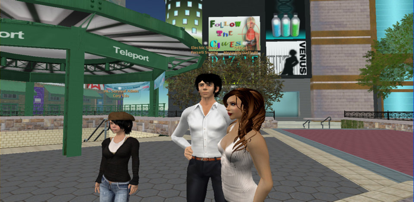figure 1: Second Life (http://www.polygon.com)