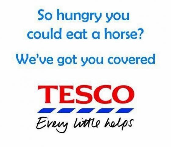 eWOM online word of mouth tesco horse meat scandal
