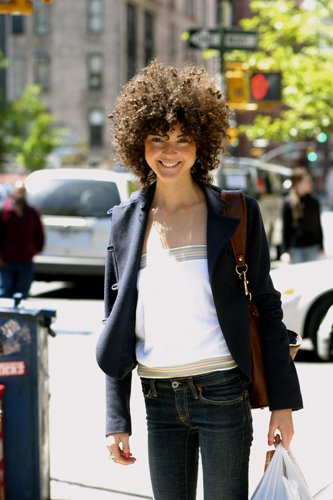 Early street style photography in New York 2006