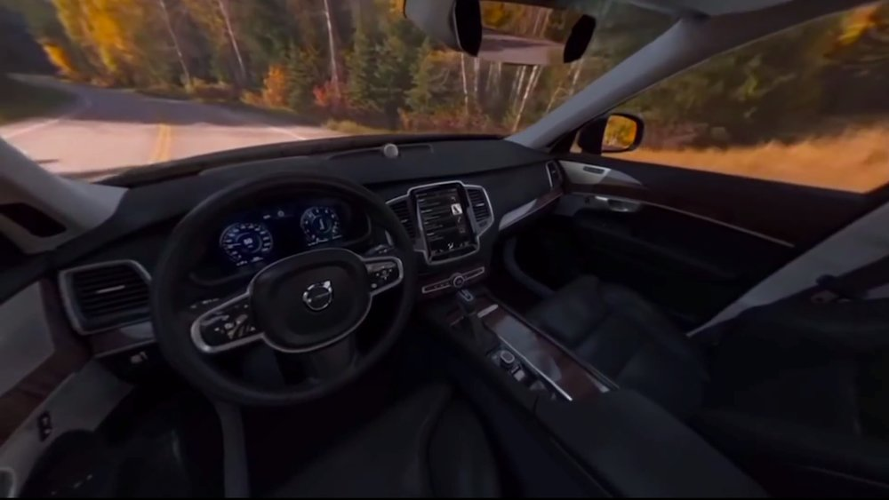 The virtual reality campaign of Volvo. Source:  Volvo .