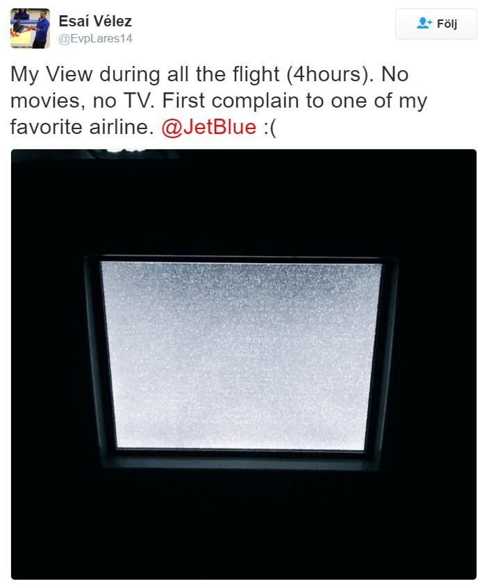 Image           SEQ Figure \* ARABIC       1        . Twitter complaint about JetBlue (Vélez, 2015)