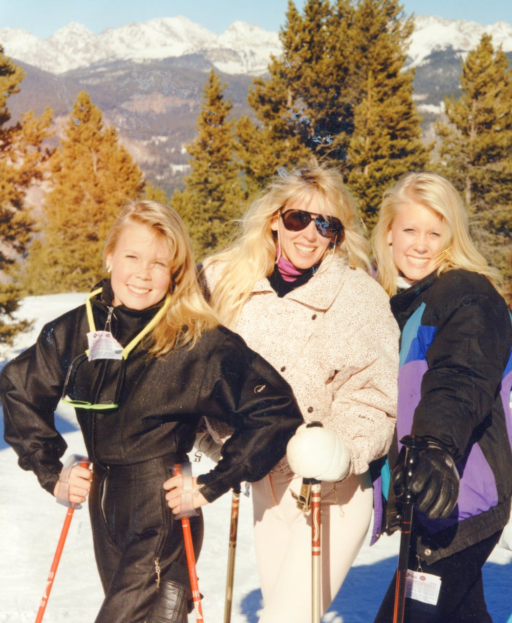 Vail, CO 1990. I'm on the right.