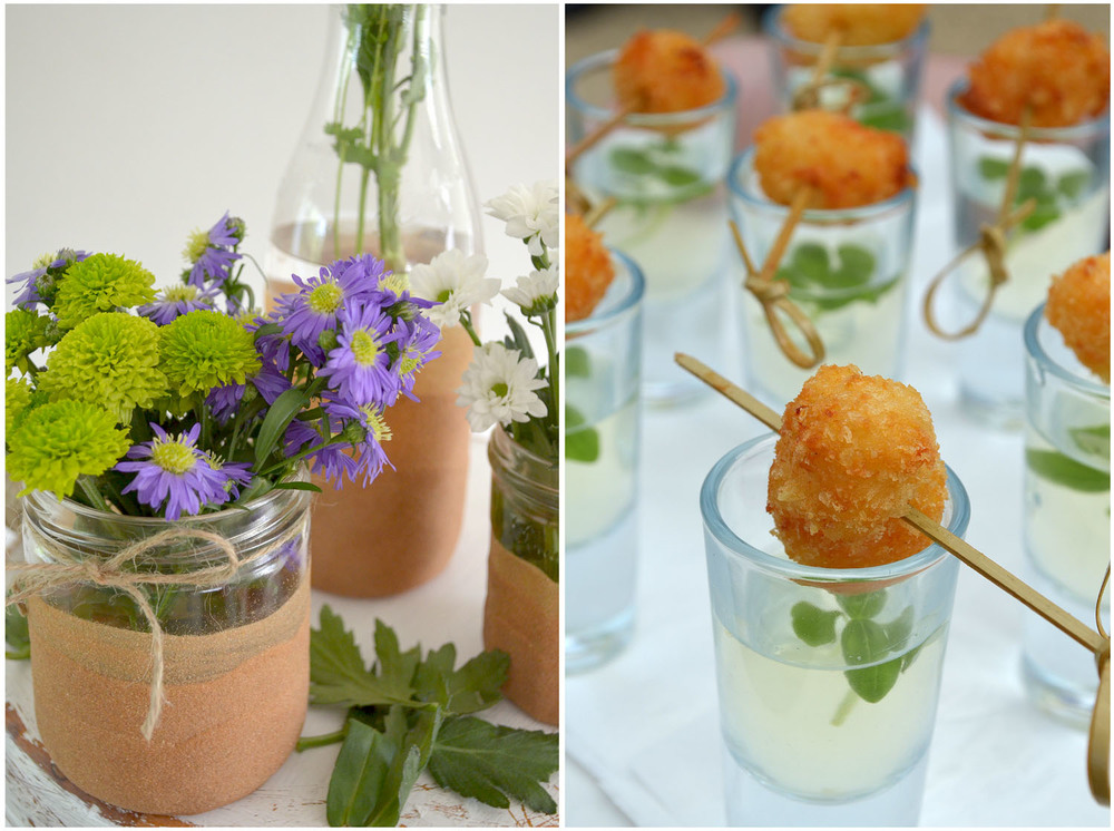 Flowers and canapés.jpg
