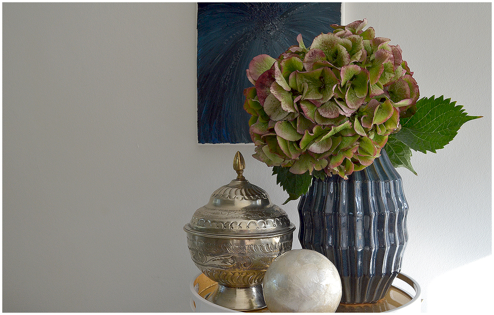Colour matched vase and artJPG