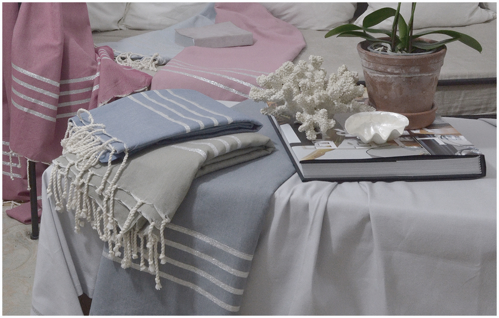 Styling with Hamam towels