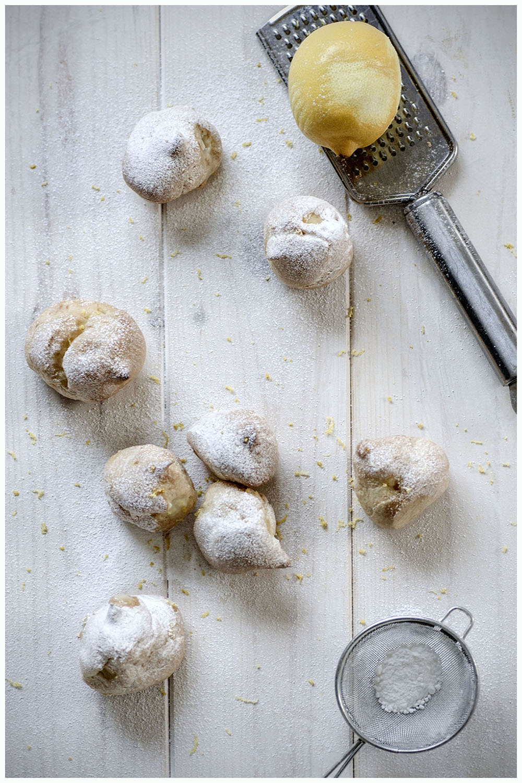 lemon choux buns