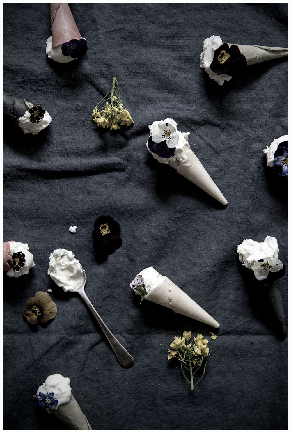Flowery Ice Cream