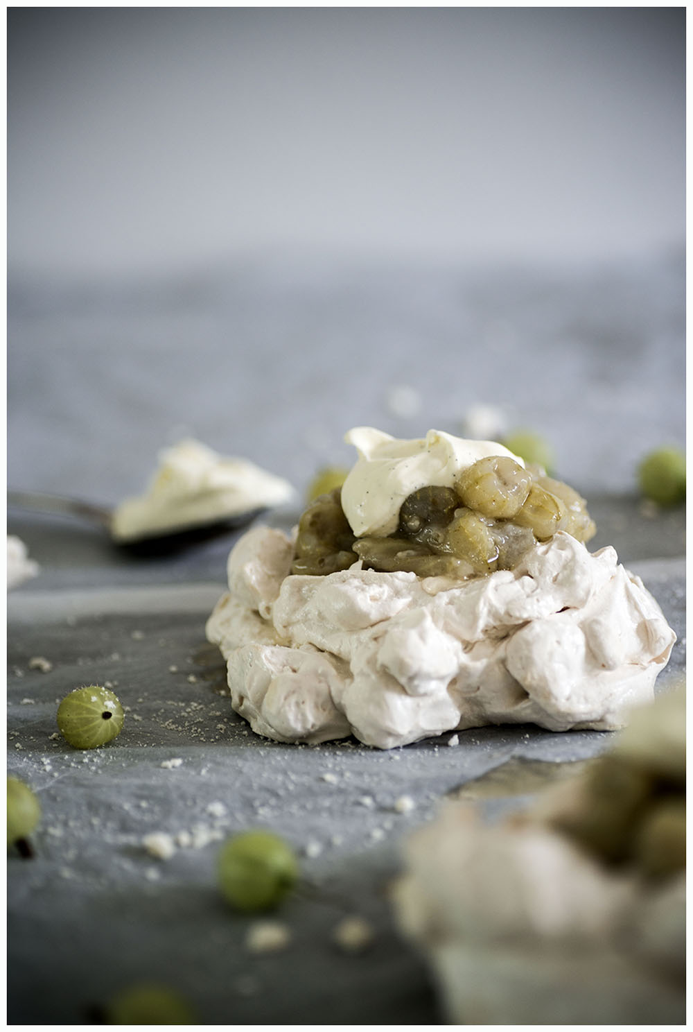 Gooseberry Mini Pavlovas