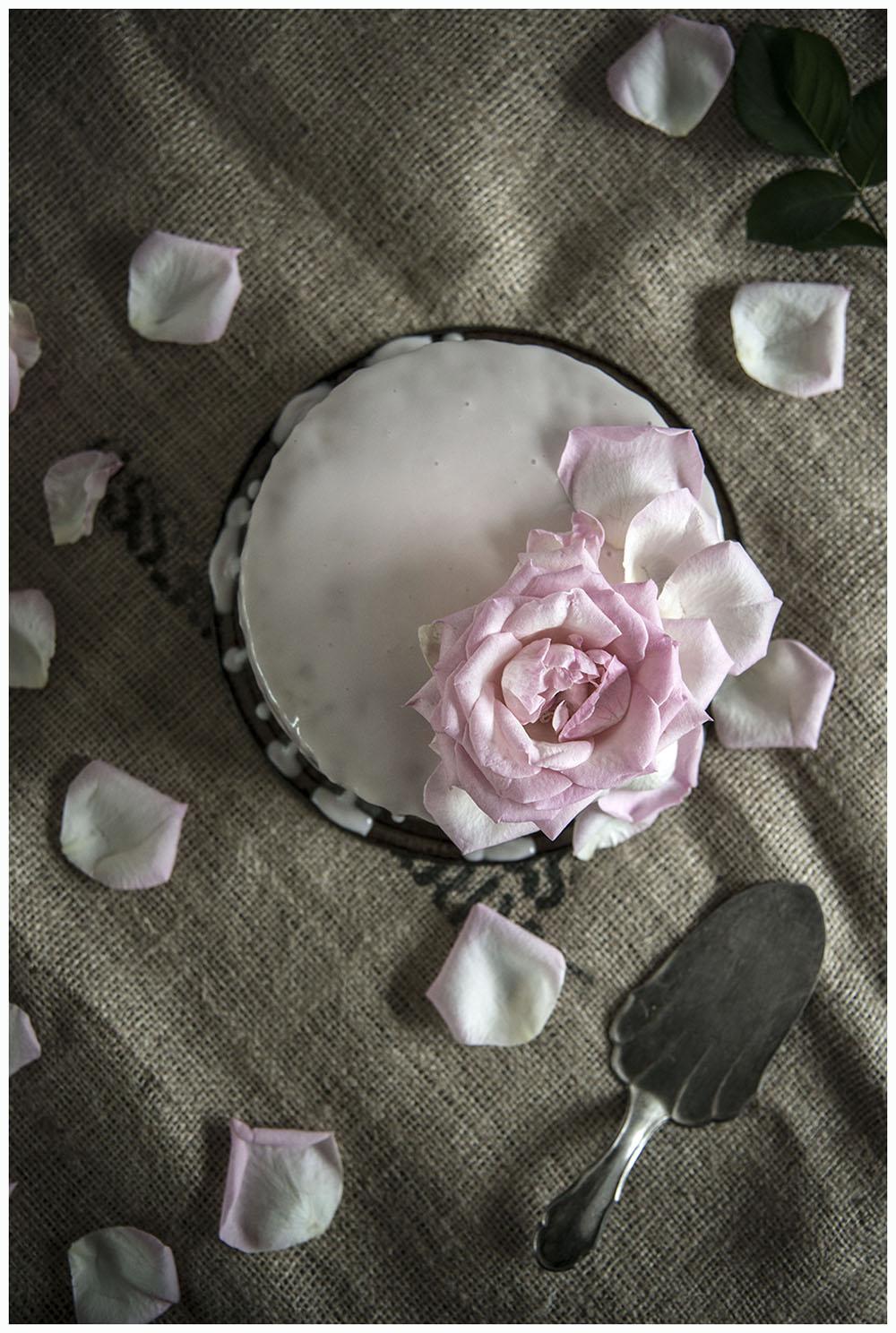 Cucumber & Rose Cake
