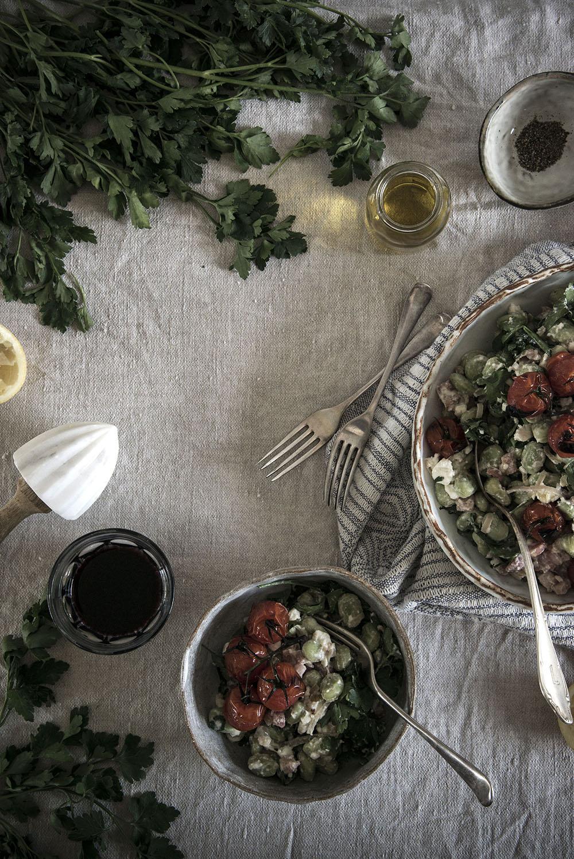 Fava Bean Salad