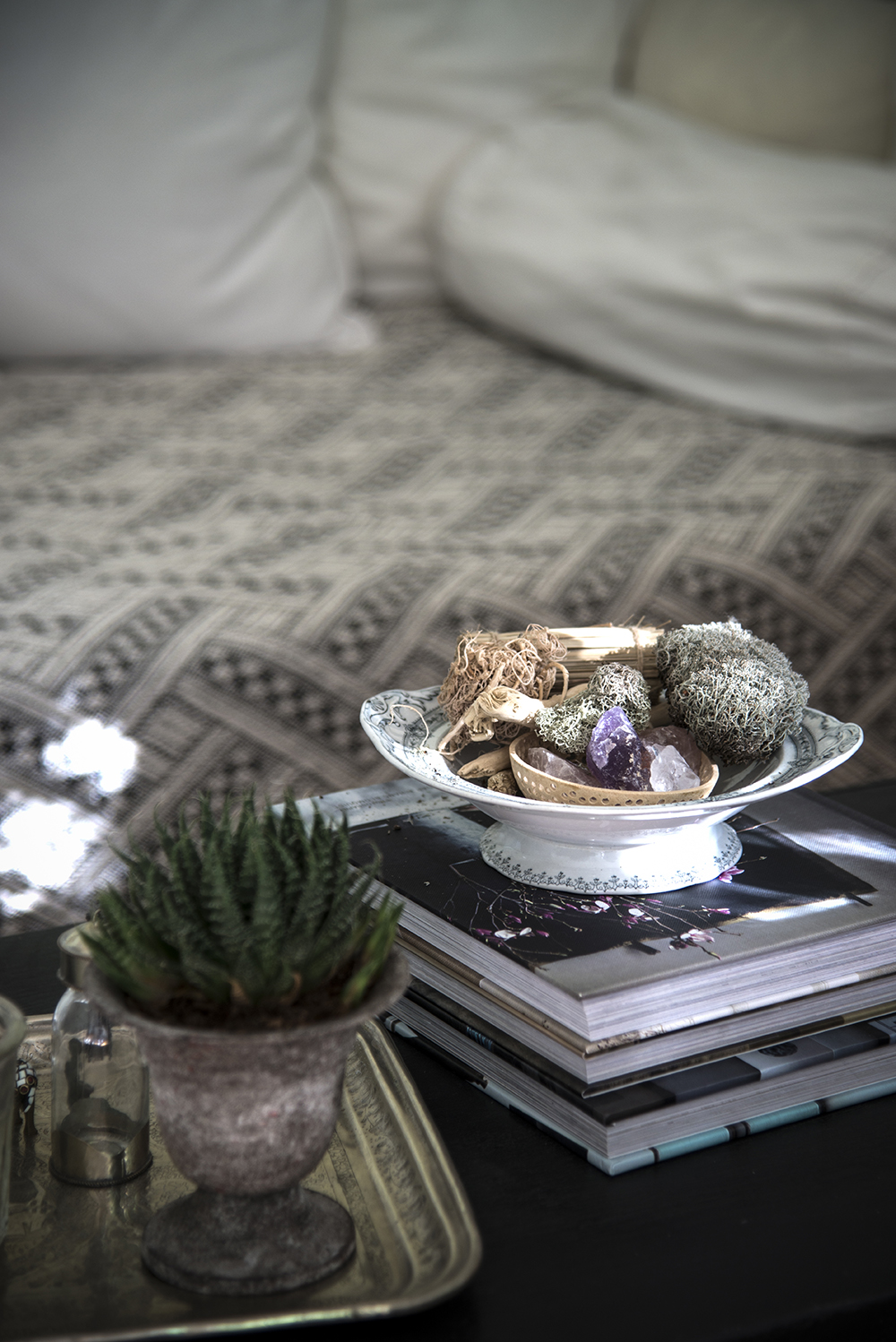 boho touches with Decorist
