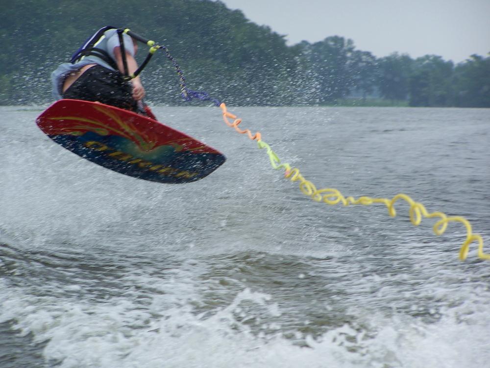 Kneeboard Jump