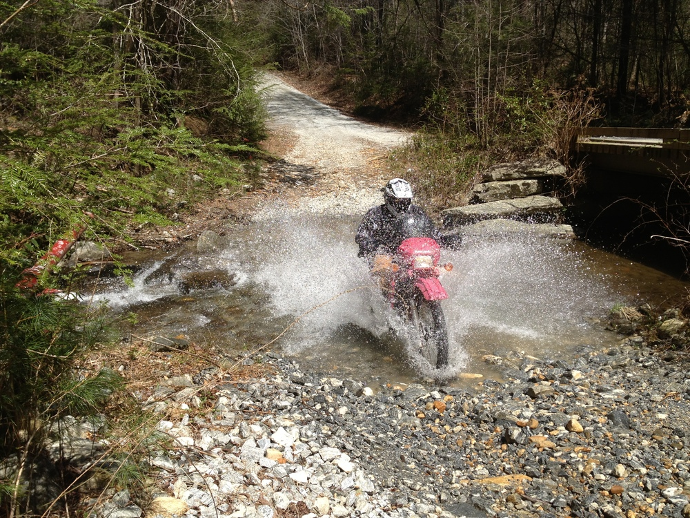First Water Crossing
