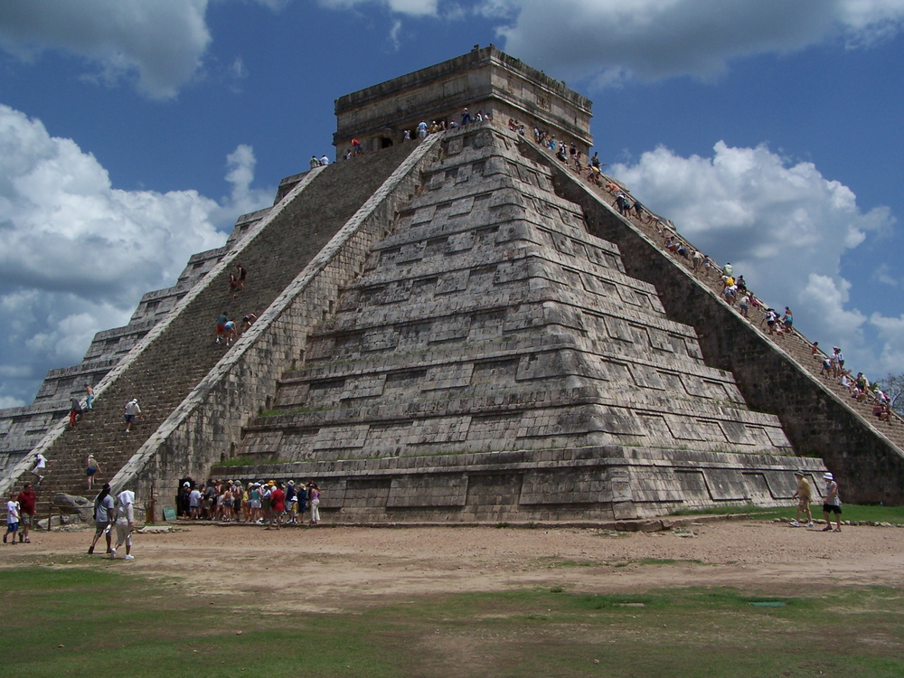 Temple in Chichen Itza