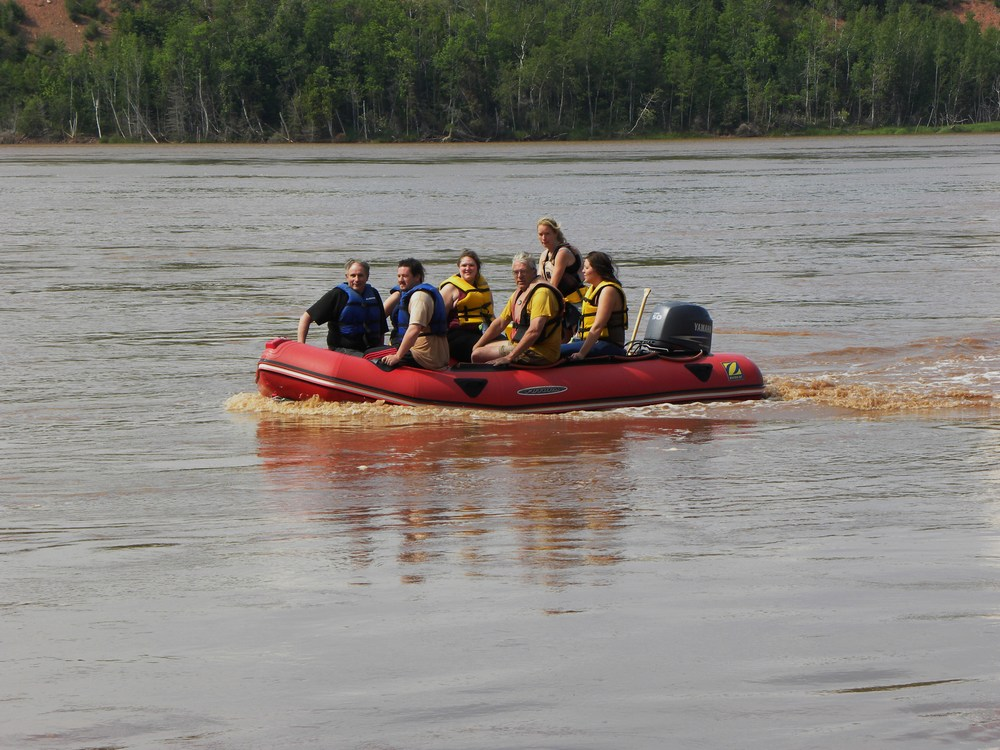 Tidal Bore Rafting on the Shubenacadie River