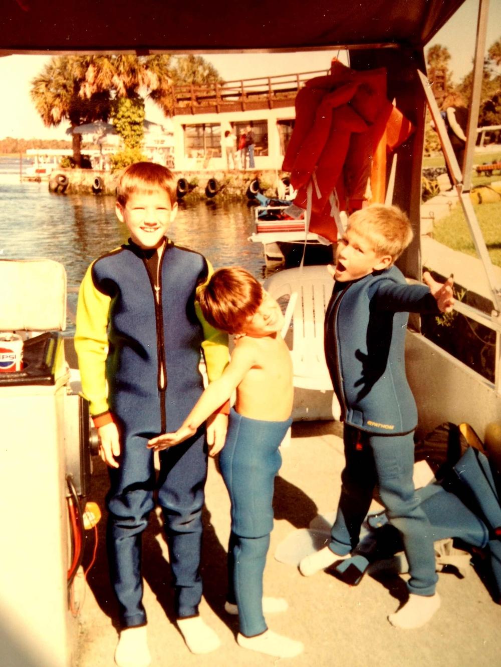 Me, Cory (Scuba Instructor Now), My Brother