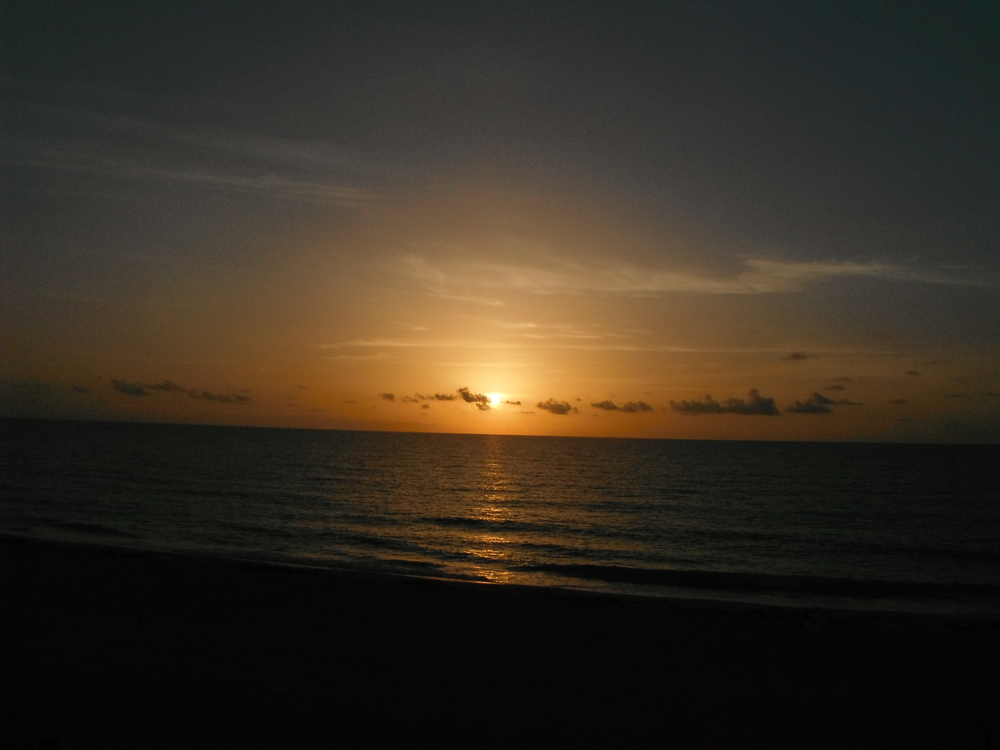 Nightfall in Cancun
