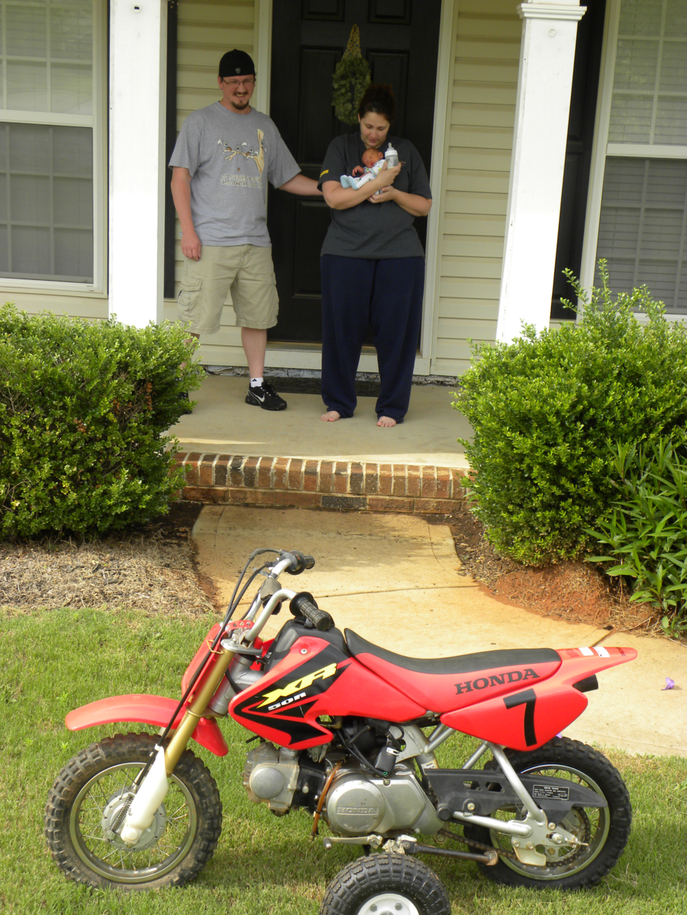 Dirt bike surprise