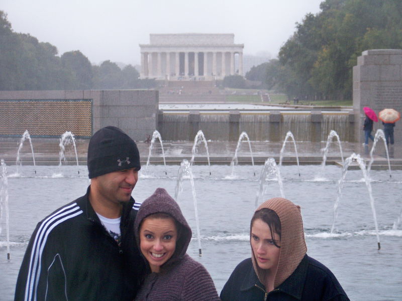 A Cold Rainy Day in DC