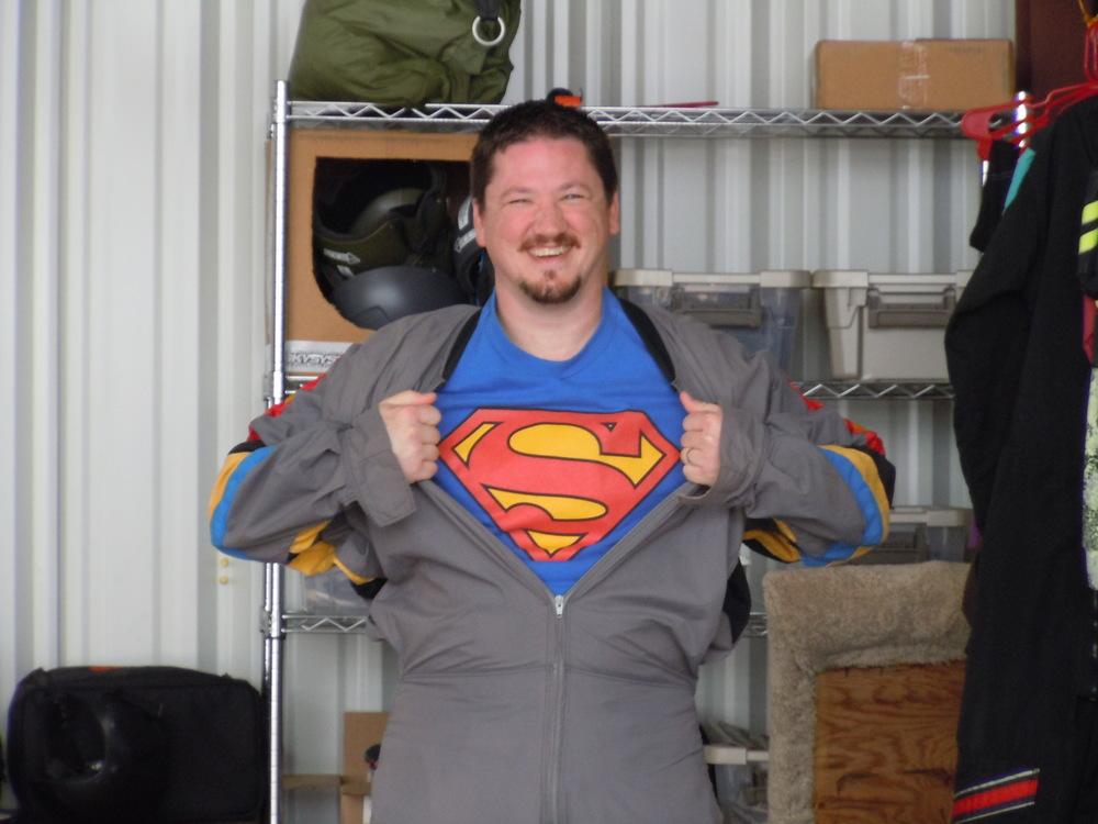 Superman Skydiving