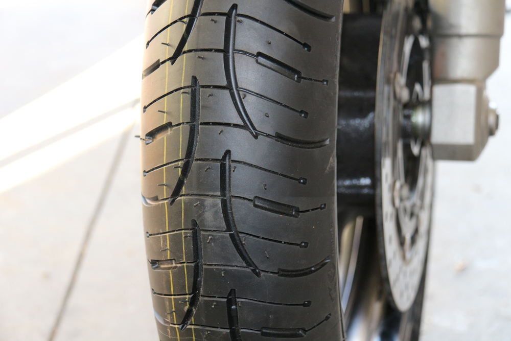 Front Tire Tread Pattern