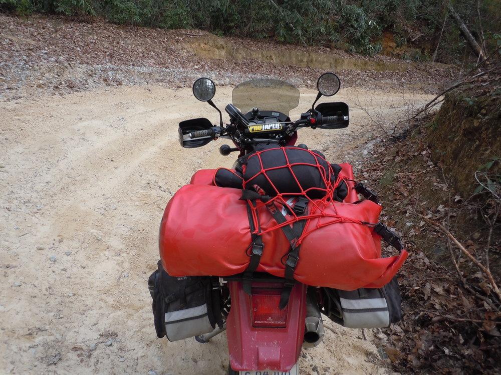Motonaut Adventure from the rear