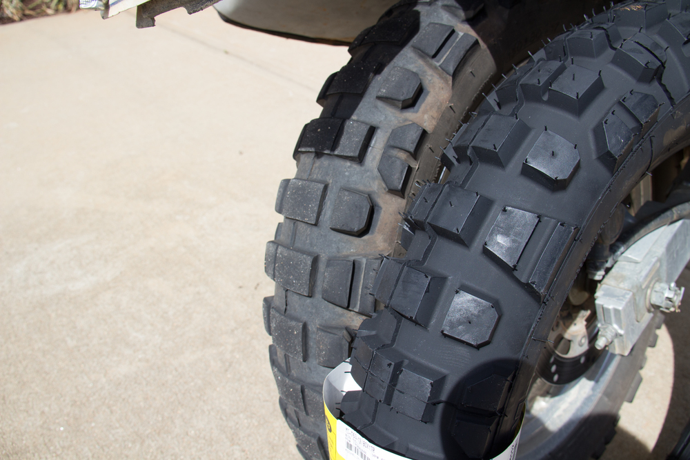 Michelin T63 Rear Comparison