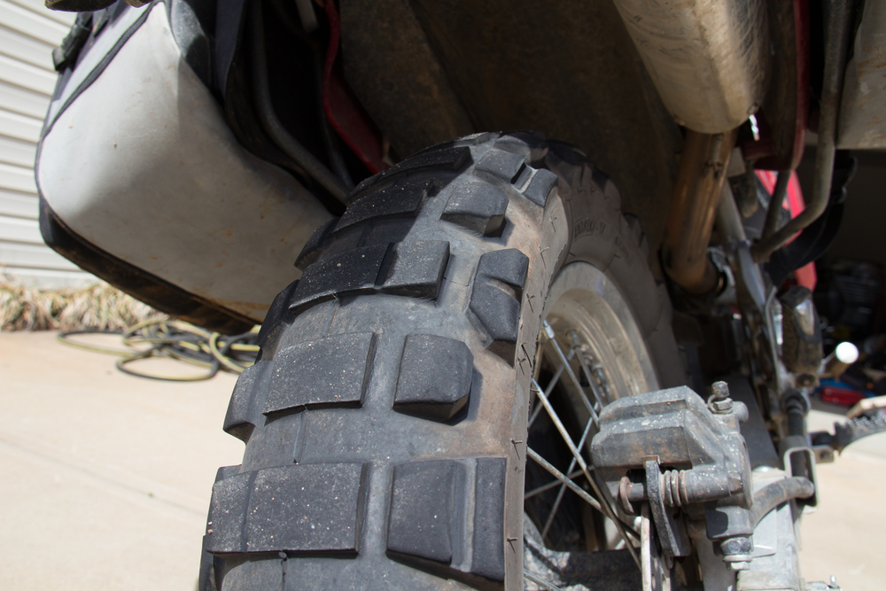 Michelin T63 Worn Rear