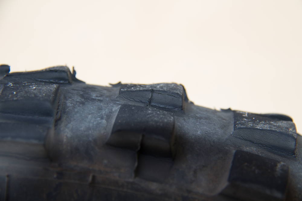 Michelin T63 Front Cupping Detail