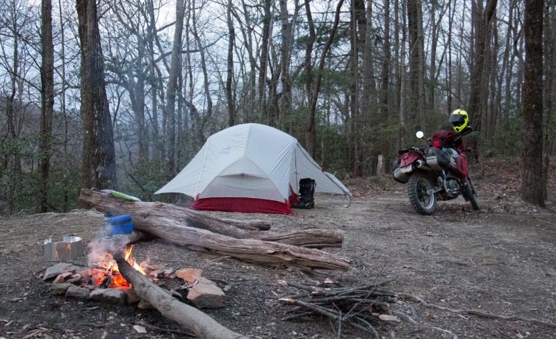 Motocamping for the first time
