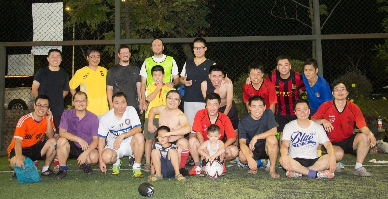 Playing Soccer in China