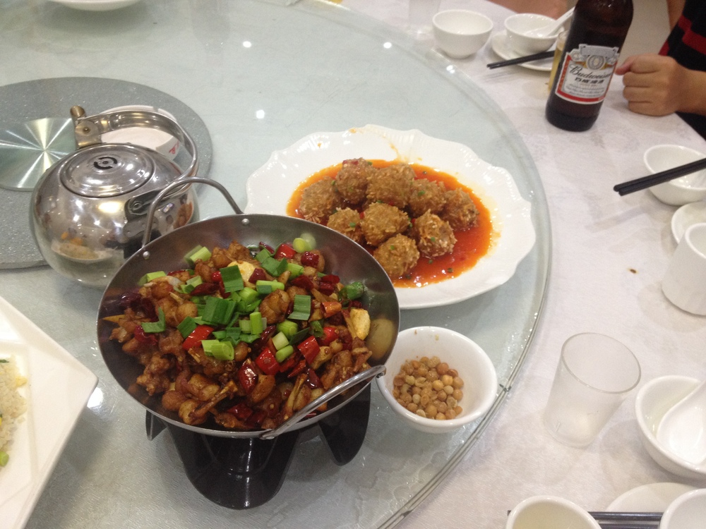 Frog and Lotus Balls with Pork