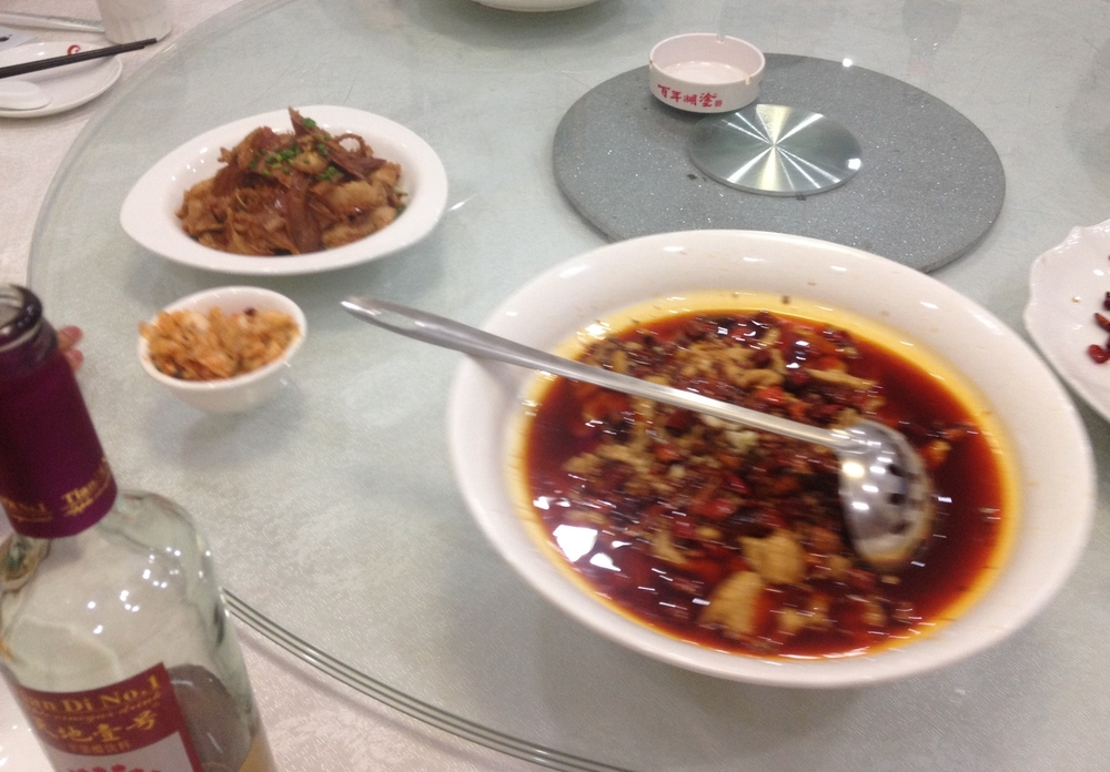 Szechuan Mouth Numbing Soup