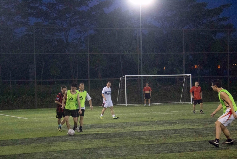 Soccer Under the Lights