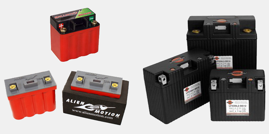 Many options of Lithium Batteries To Pick From.