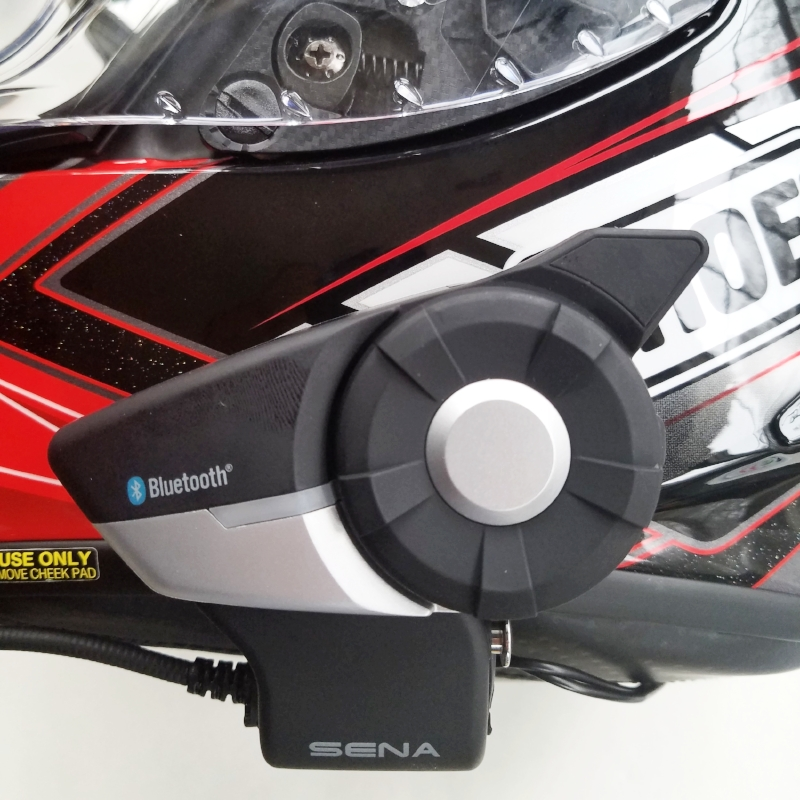 Installed on Shoei X-14