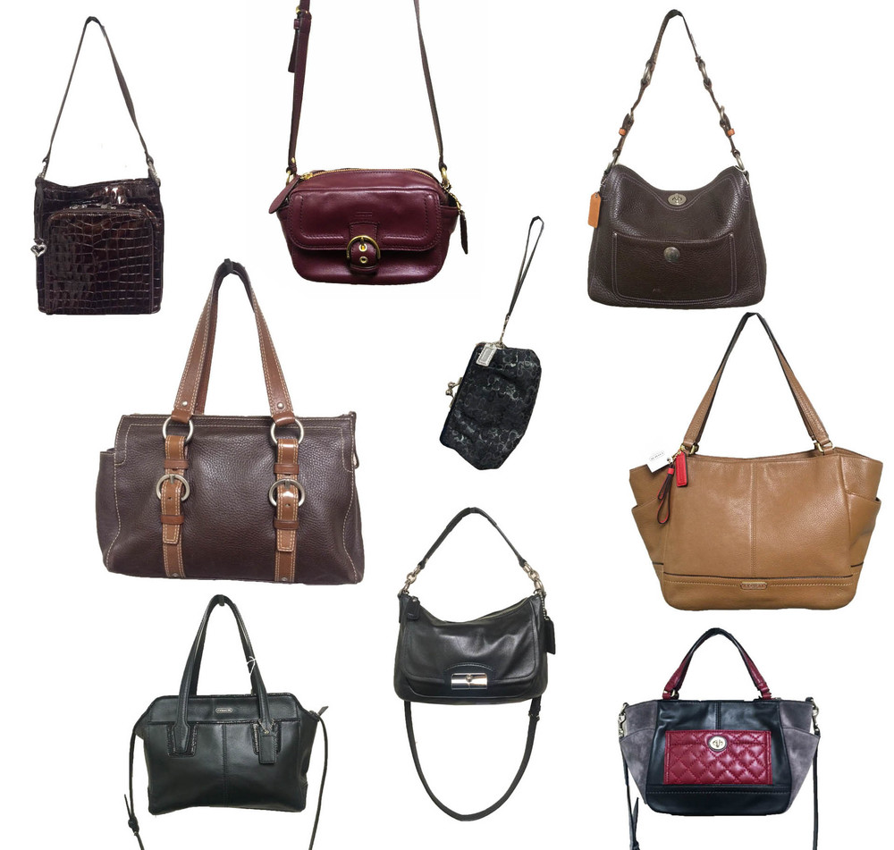 Nine new bags have been added to our site. Want details and pricing? Click on Designer Handbags over on the left, then choose your favorite brand. The bag in the top left corner is Brighton, and all the other bags are Coach. Be sure to check them out :)