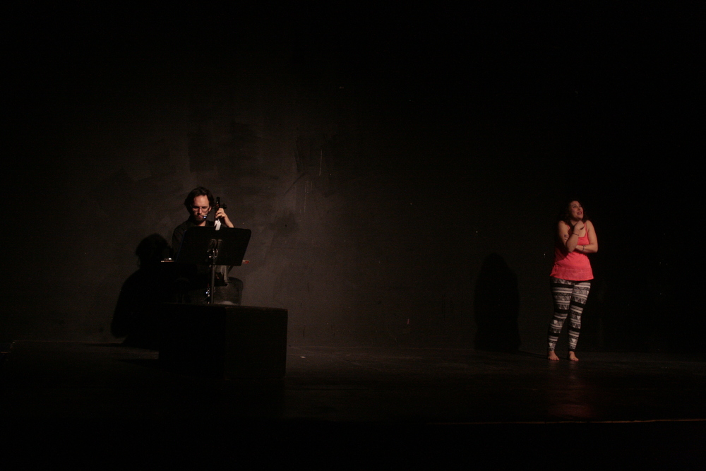 "O'Loughlin performing ""Natural Novice"" in the 2013 Charm CIty Fringe Festival."