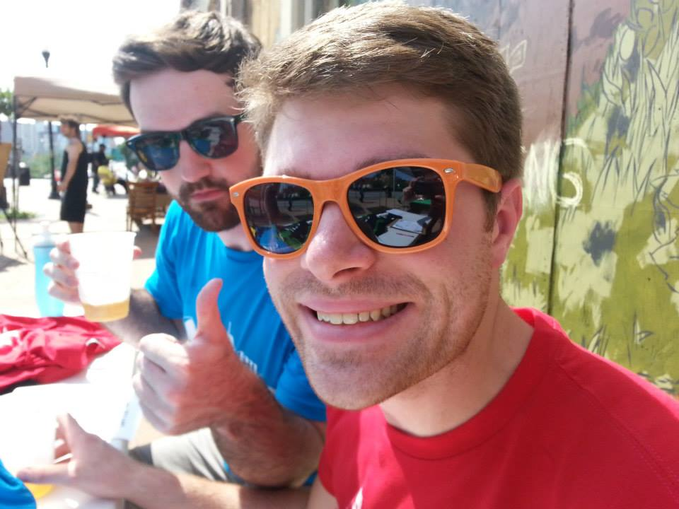 Want to have as much fun, sun, and beers in hand as these gents? Sign up to learn more about volunteering!