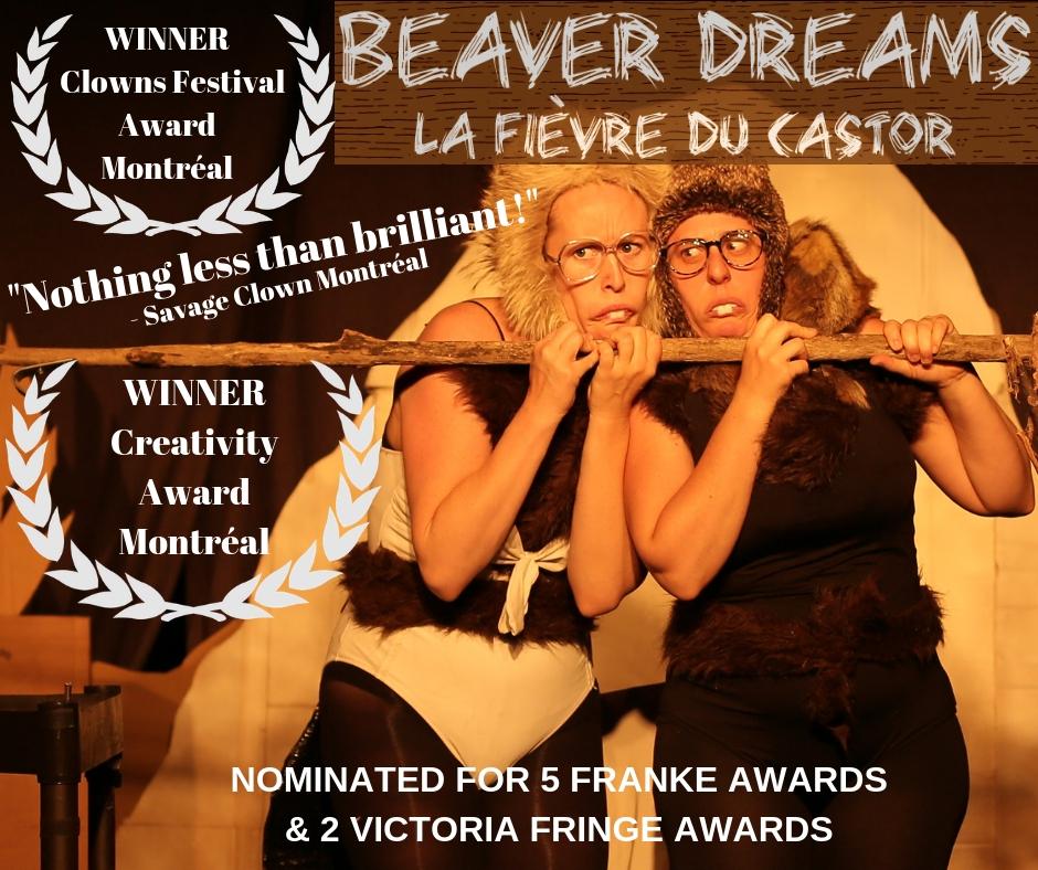 Lost & Found Puppet Co. -  Beaver Dreams (La Fièvre du Castor)   Get wet at the best dam show. BEAVERS. HUMANS. Shticky business.