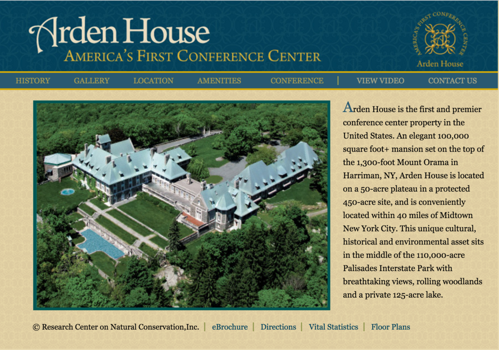 Arden House Website
