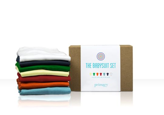 Part of Primary's approach to developing a loyal consumer base is simplifying the kids-clothes buying process, from an easy to use website to eye-catching packaging.     (Photo: Primary)