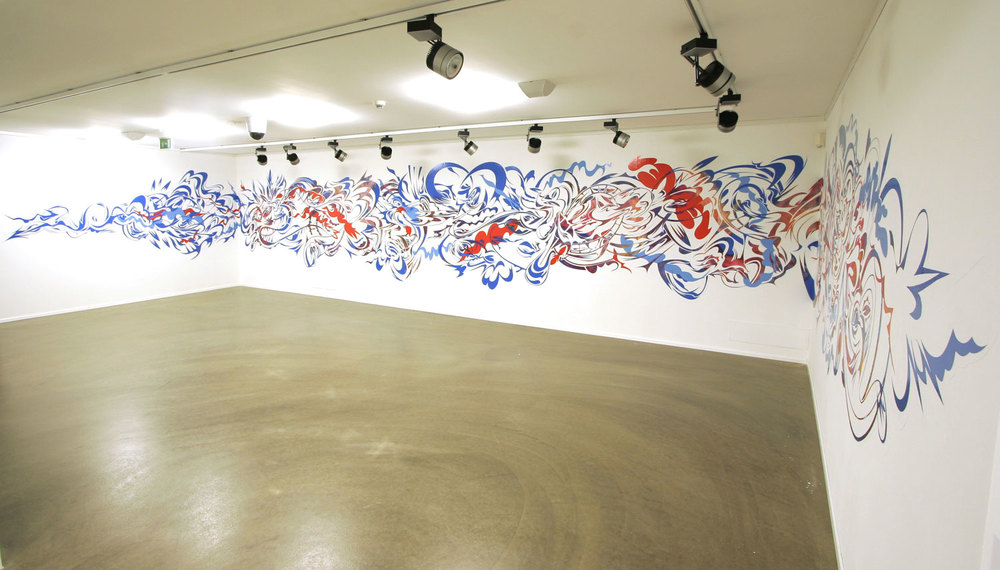 Vinyl Wall Drawing, 2005 ​  Verona, Italy