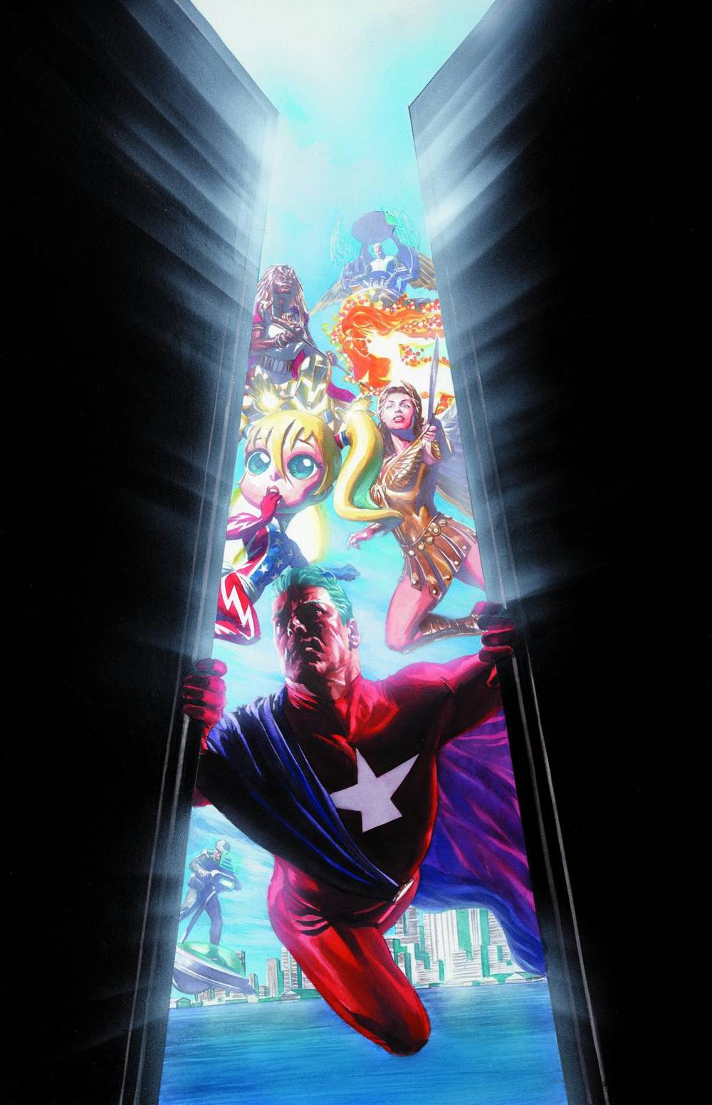 Astro City #1 Cvr A by Alex Ross