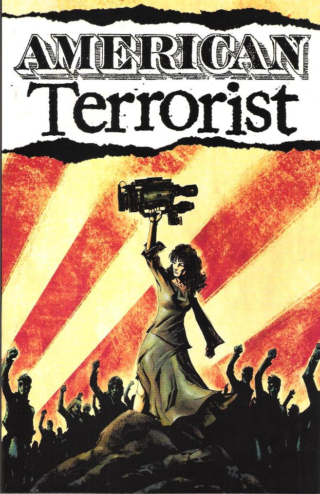 American Terrorist, art by Andy MacDonald