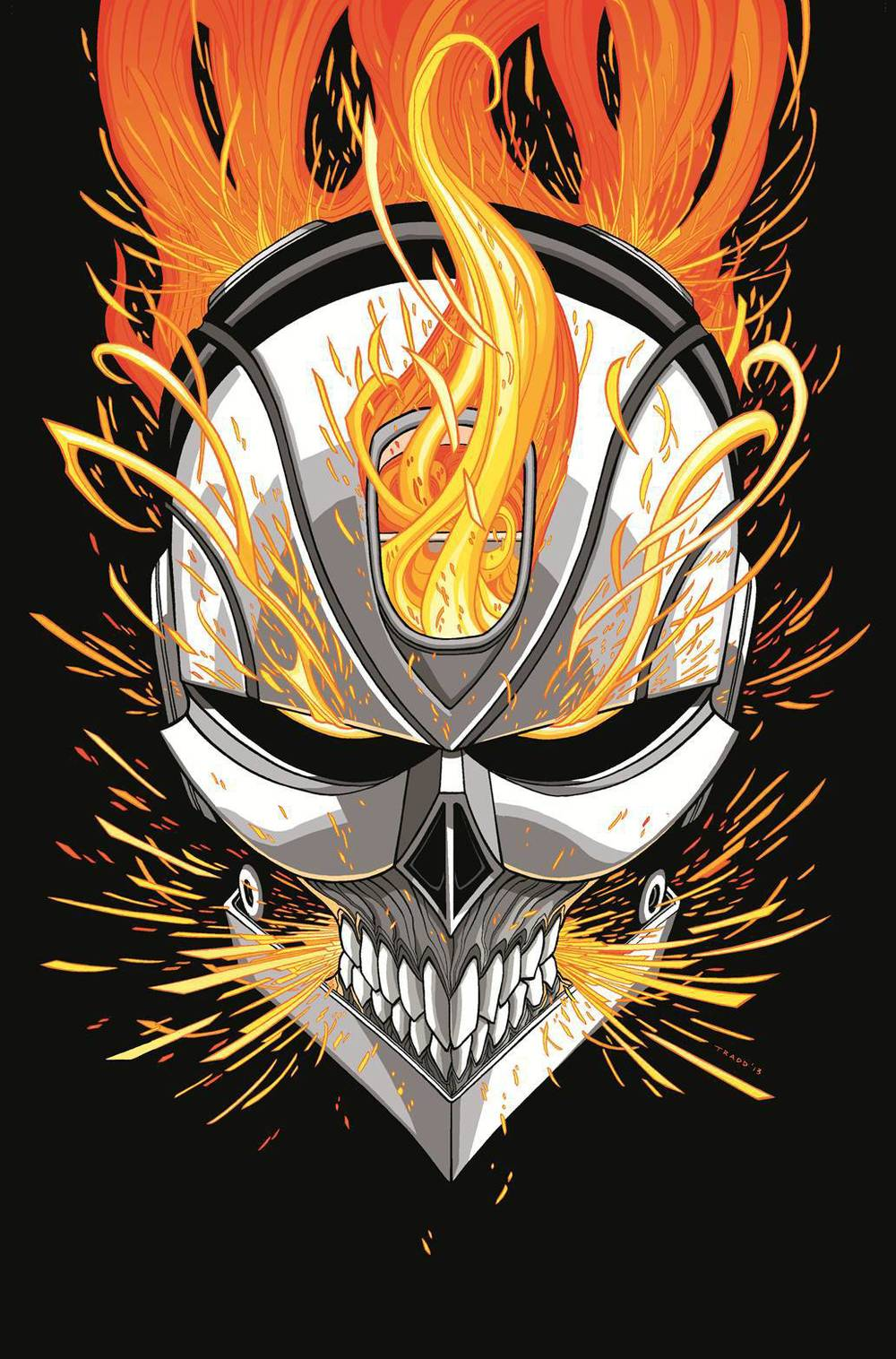 All New Ghost Rider #1 Variant Cover by Tradd Moore