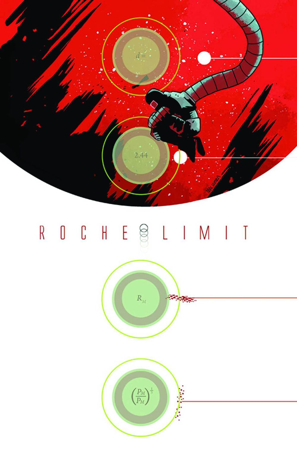 Roche Limit #1 Cover Art by Vic Malhotra