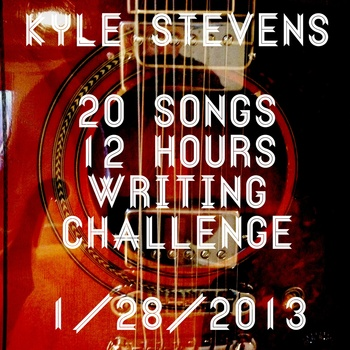 0-Songs in 12-Hours Songwriting Challenge. 2013  Available for free download via Bandcamp.