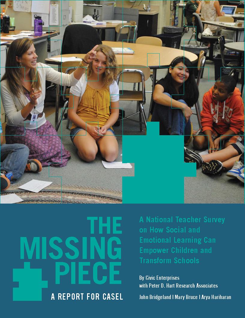 The Missing Piece A National Teacher Survey