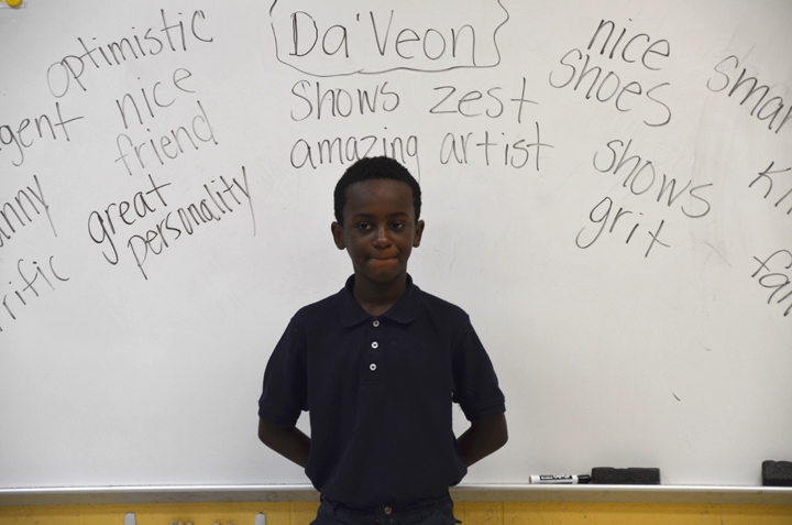 elementary paths classmates described a fellow student's good character.